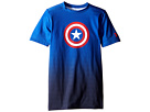 Under Armour Kids - Marvel Base Layer Short Sleeve (Big Kids)