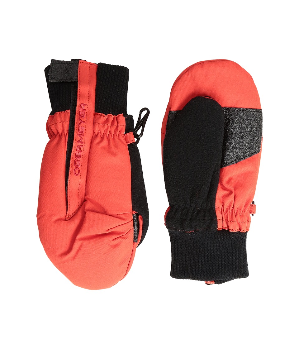 Obermeyer Kids Thumbs Up Mitten (Toddler/Little Kid) (Red) Over-Mits Gloves