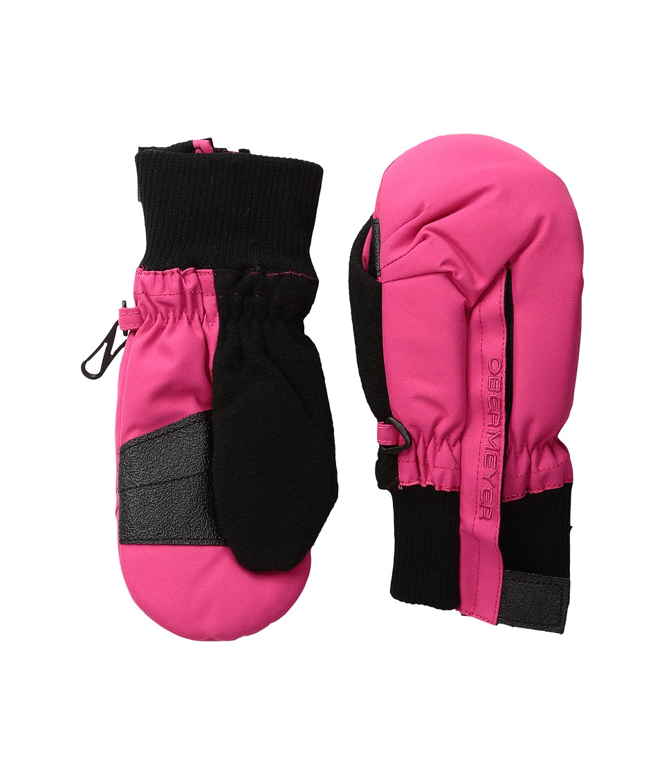 Obermeyer Kids Thumbs Up Mitten (Toddler/Little Kid) (Glamour Pink) Over-Mits Gloves