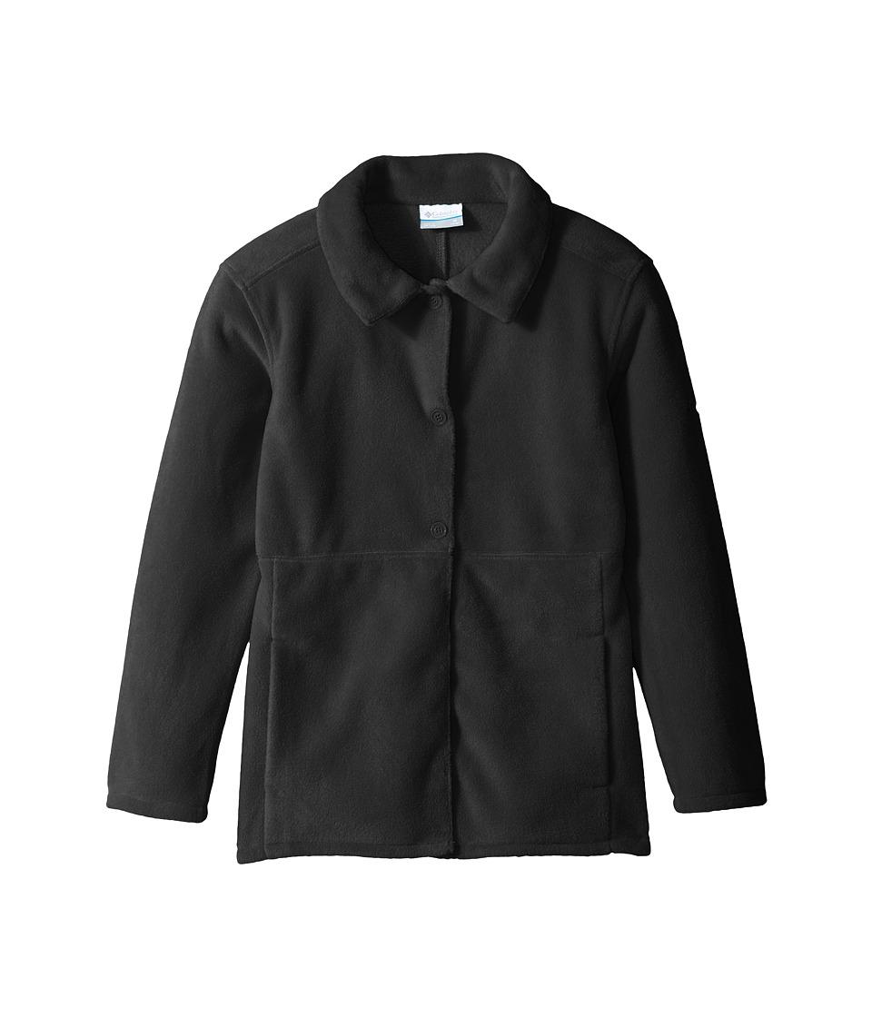 Columbia Kids Benton Springs Novelty Coat (Little Kids/Big Kids) (Black) Girl