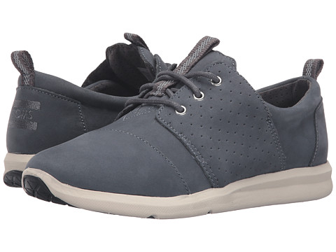 TOMS Del Rey Sneaker - Castlerock Grey Nubuck