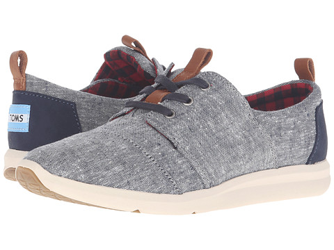 TOMS Del Rey Sneaker - Blue Chambray