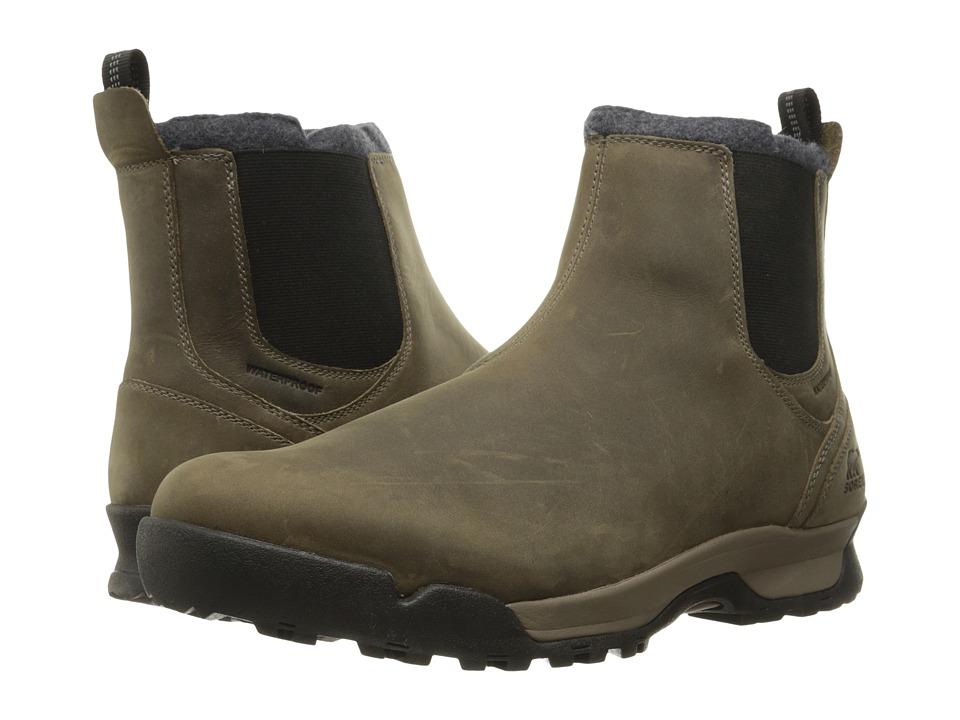 SOREL - Paxson Chukka Waterproof (Major/Black) Mens Cold Weather Boots