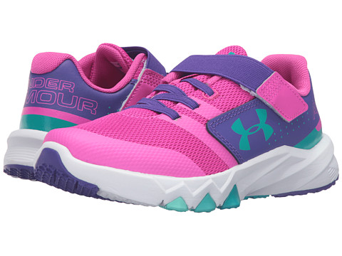 Under Armour Kids UA GPS Primed AC (Little Kid) - Lunar Pink/Purple Zest/Neptune