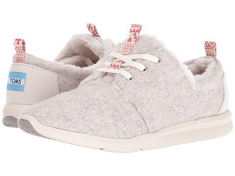 TOMS Del Rey Sneaker - Oatmeal Wool/Shearling