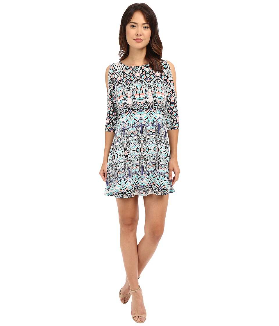 Tart Naya Dress Ink Tiles Womens Dress