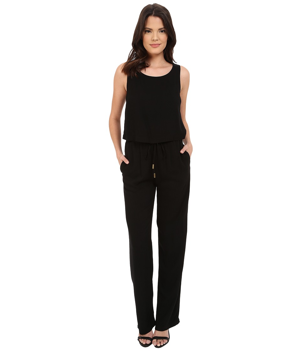 Three Dots - Yessenia Jumpsuit (Black) Women's Jumpsuit & Rompers One Piece