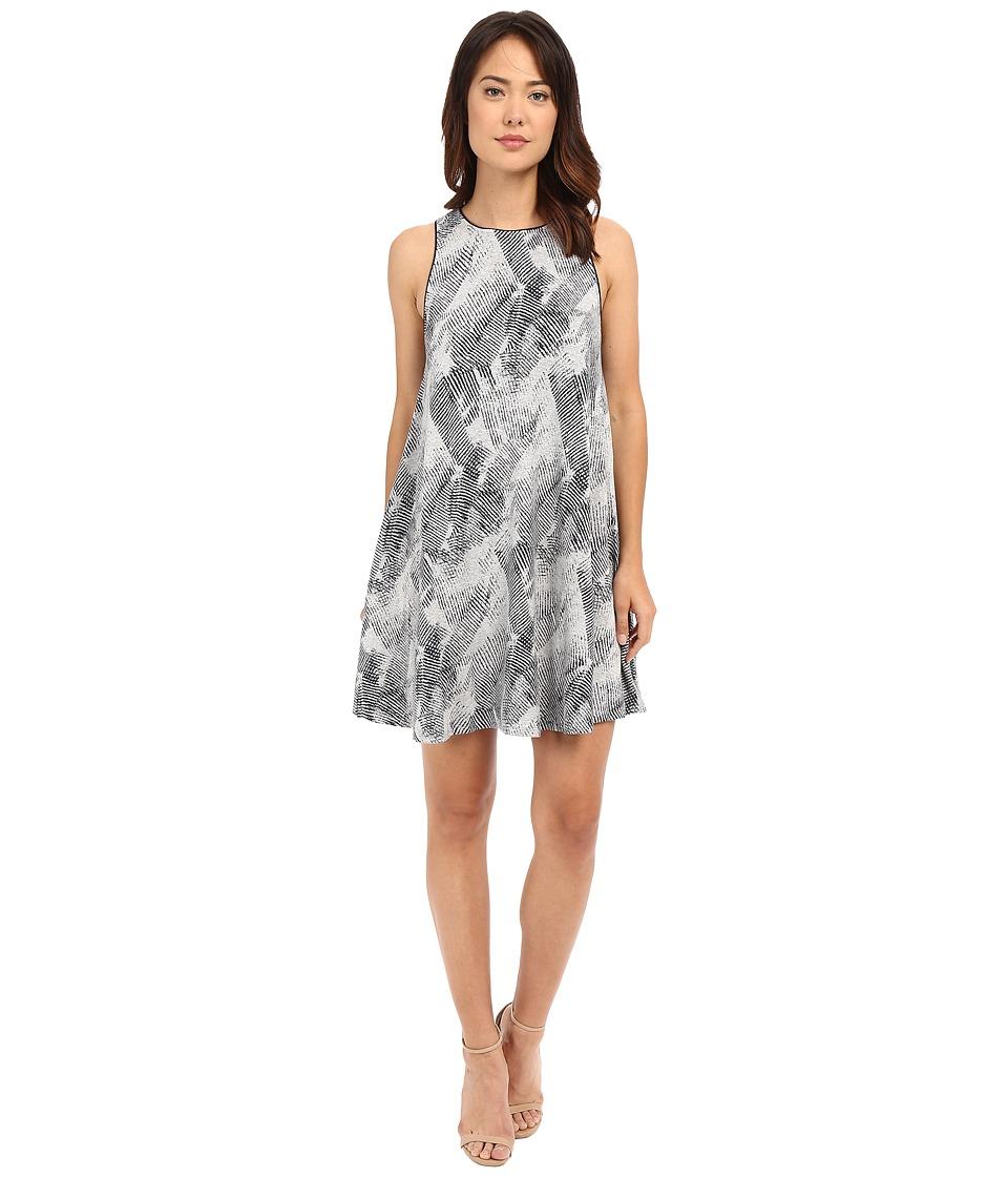Tart Ginnie Dress Heather Grey/Navy Stripes Womens Dress