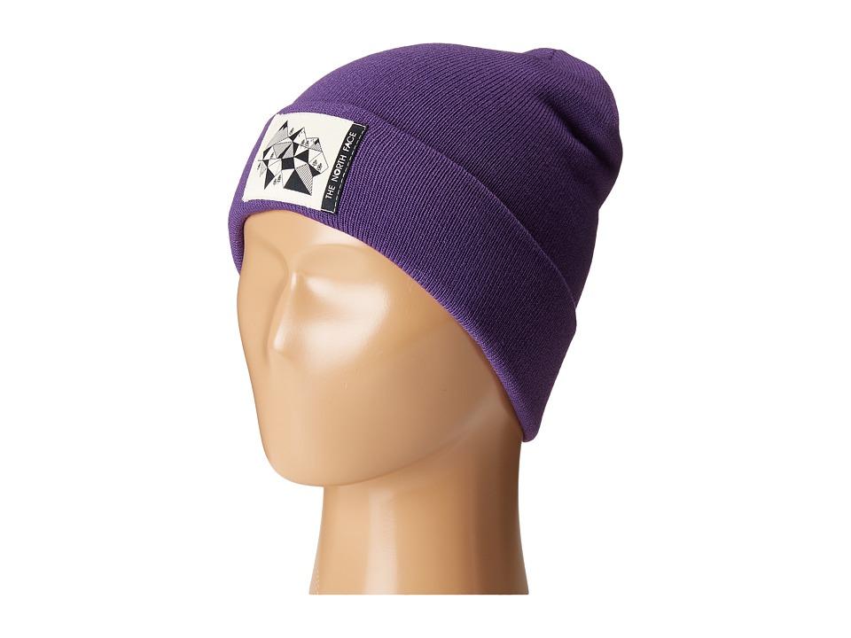 The North Face Kids - Dock Worker Beanie (Big Kids) (Hero Purple (Prior Season)) Beanies