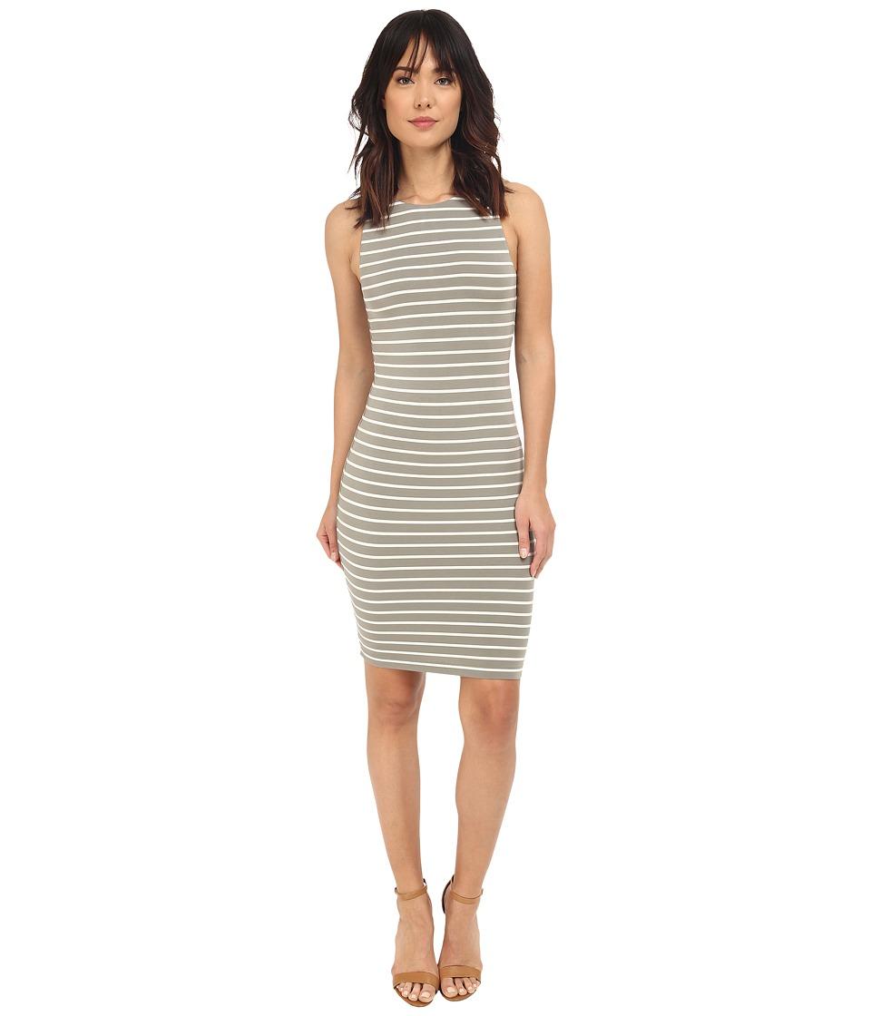 Tart Lindy Dress Olive/White Stripe Womens Dress