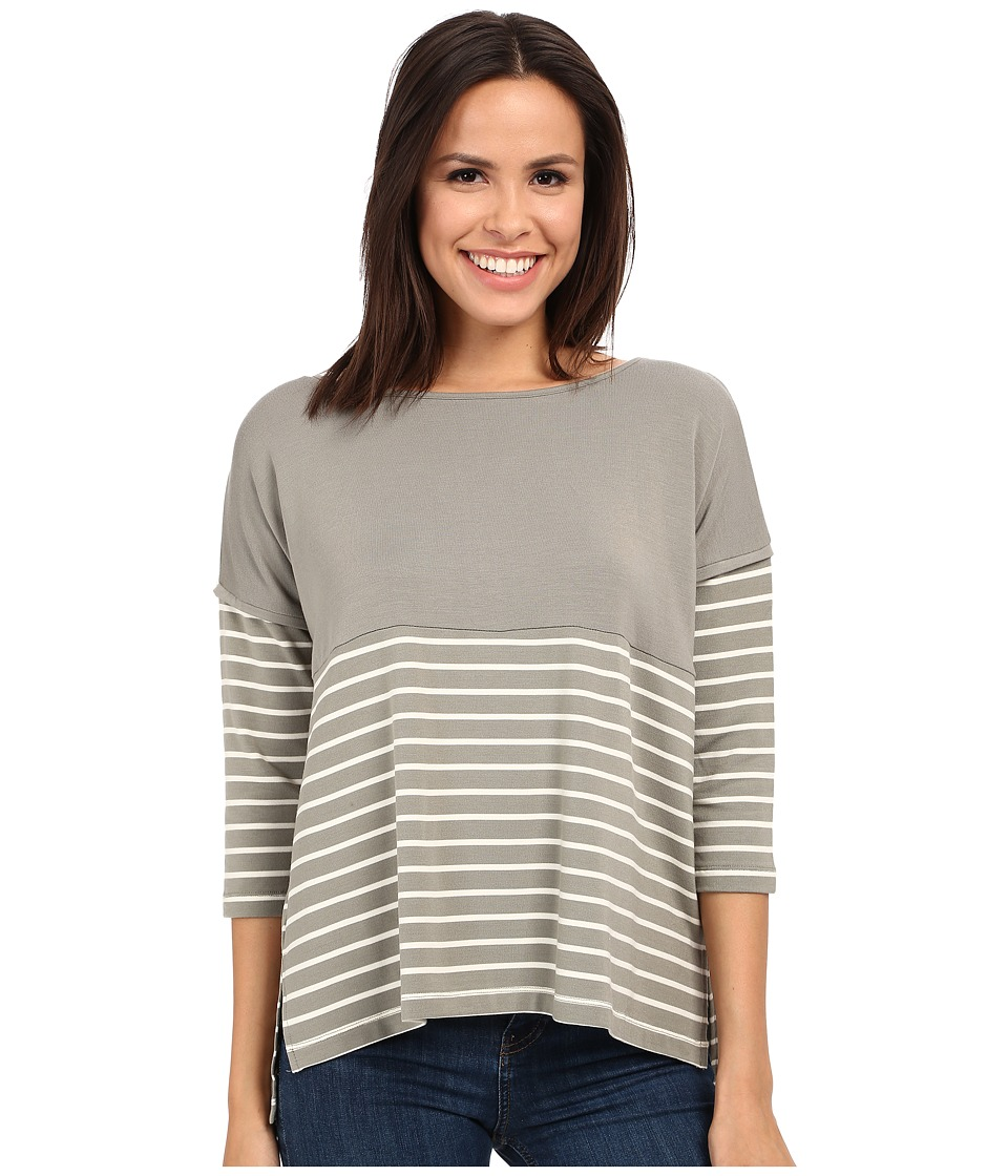 Tart Anaeia Top Olive/White Stripe Womens Clothing
