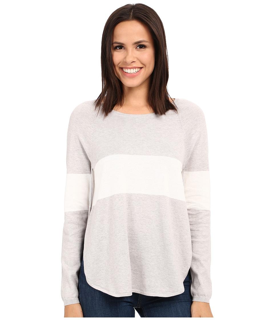 Tart Calla Sweater Heather Grey/White Stripe Womens Sweater