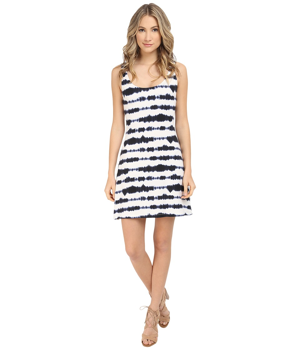 Tart Blaire Dress Large Dyed Stripe Womens Dress