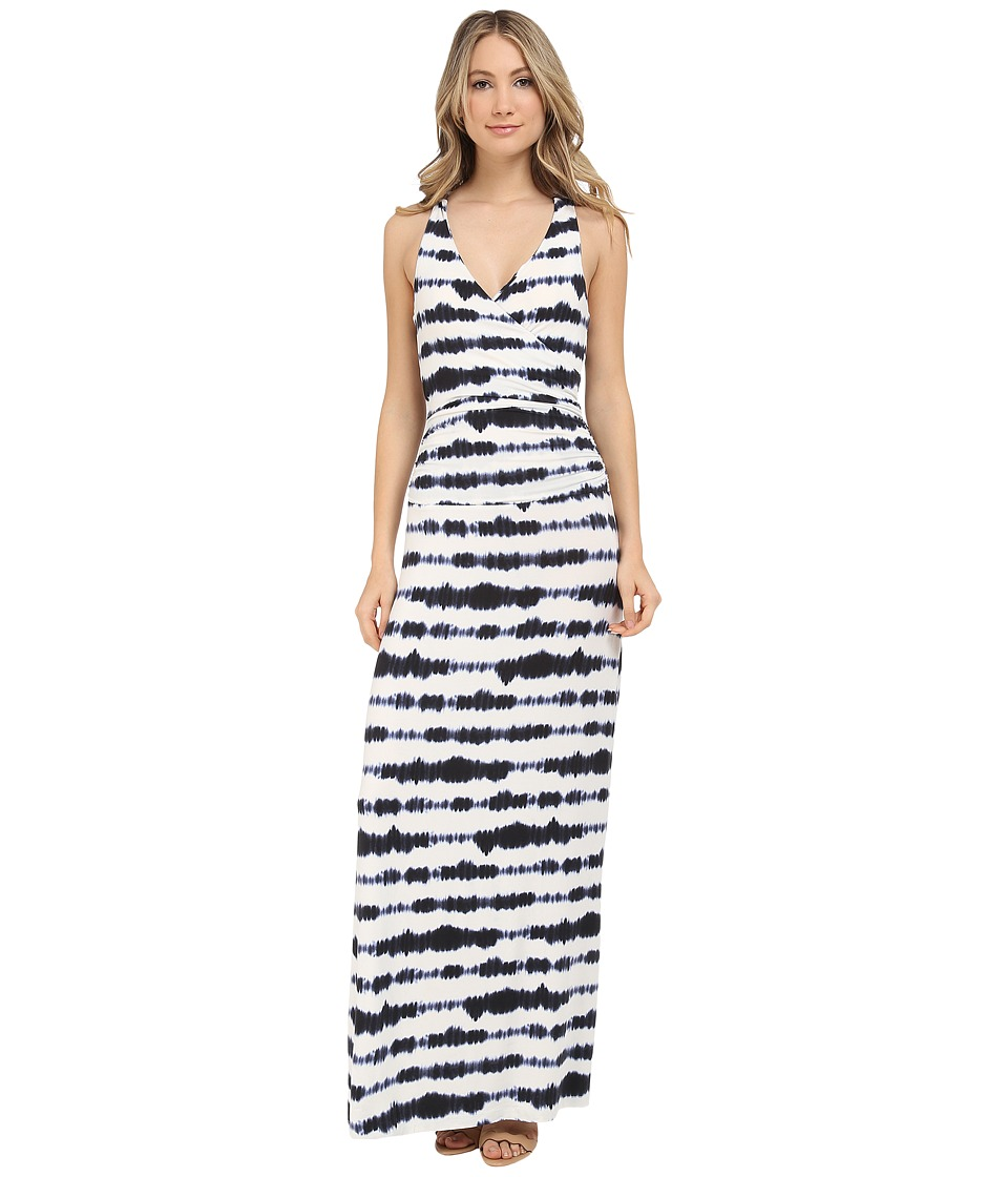 Tart Sky Maxi Dress Large Dyed Stripe Womens Dress