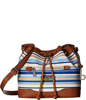 b.o.c. - Vera Cruz East/West Draw String Crossbody Stripe
