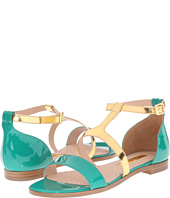 Rupert Sanderson - Alva Color Block Flat Sandals