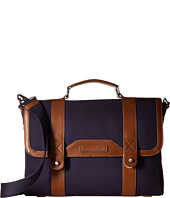 Tommy Hilfiger - David-Briefcase-Canvas w/ Leather Trim