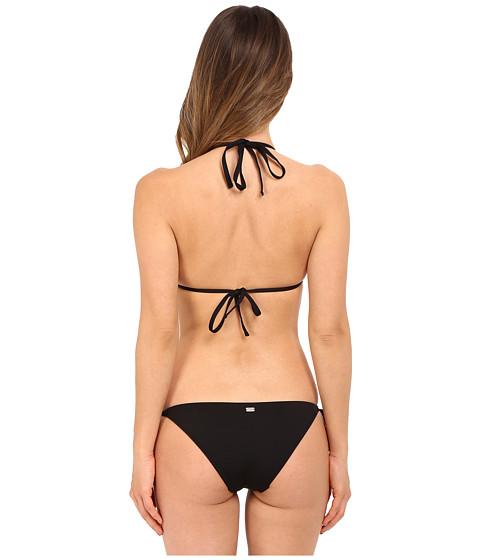 emporio armani triangle string bikini black. Black Bedroom Furniture Sets. Home Design Ideas