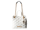 Betsey Johnson Bee Mine Shopper (White)