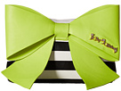 Betsey Johnson Big Bow Chic Large Bow Clutch (Citron)