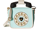 Betsey Johnson Call Me Baby Phone Crossbody (Mint)
