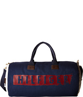 Tommy Hilfiger - Hilfiger Duffles-Weekender-Washed Canvas w/ PU Trim
