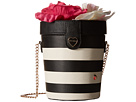 Betsey Johnson Flower Pot Crossbody (Stripe)