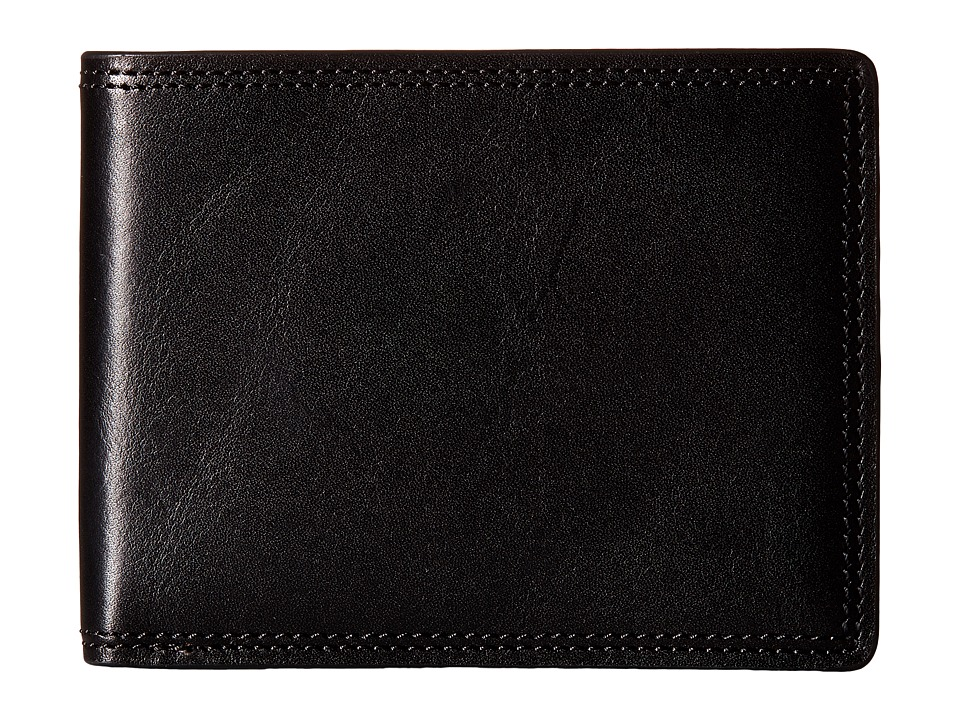 Bosca - Dolce Collection - 8-Pocket Deluxe Executive Wallet (Black) Wallet Handbags