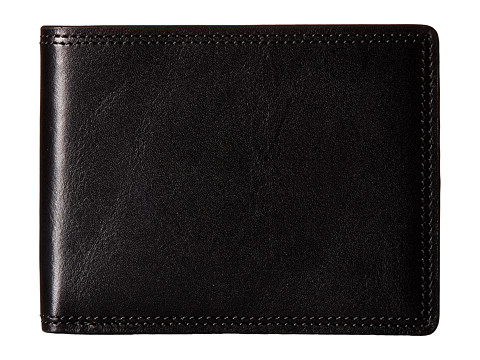 Bosca Dolce Collection - 8-Pocket Deluxe Executive Wallet - Black