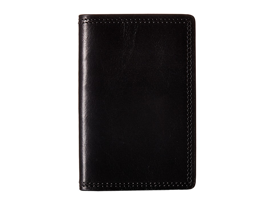 Bosca Dolce Collection Calling Card Case Black Credit card Wallet