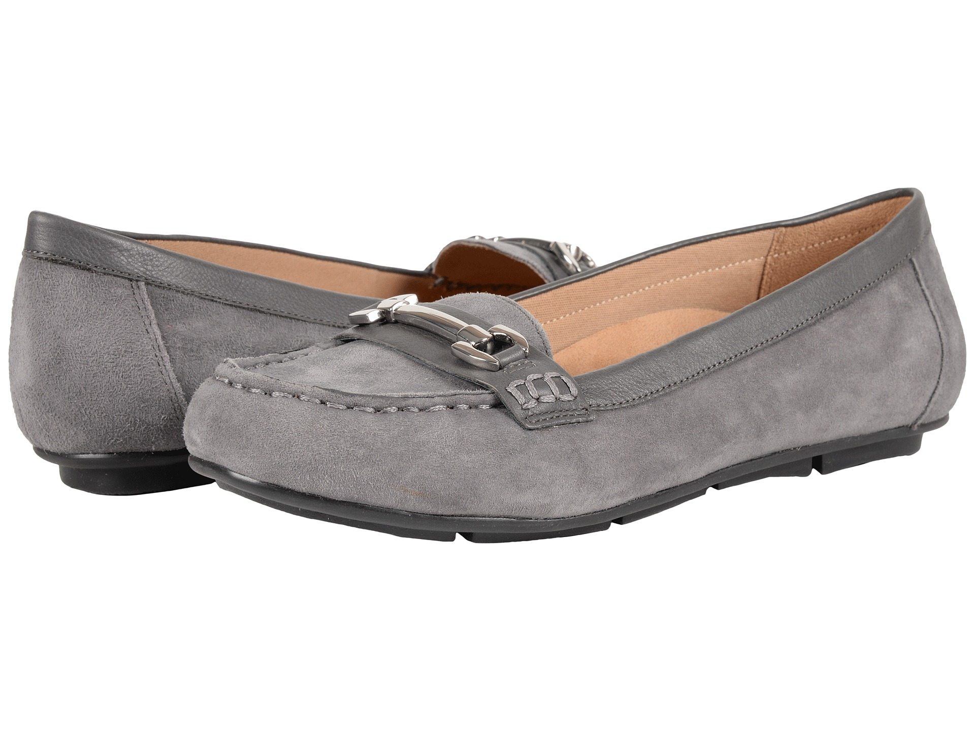 VIONIC Chill Kenya Loafer Grey - Zappos.com Free Shipping BOTH Ways
