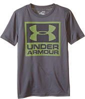 Under Armour Kids - Striped Logo Short Sleeve T-Shirt (Big Kids)