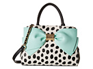 Betsey Johnson Ready Set Bow Satchel (Dot)