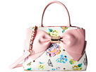 Betsey Johnson Ready Set Bow Satchel (Floral)