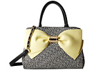 Betsey Johnson Ready Set Bow Satchel (Yellow)