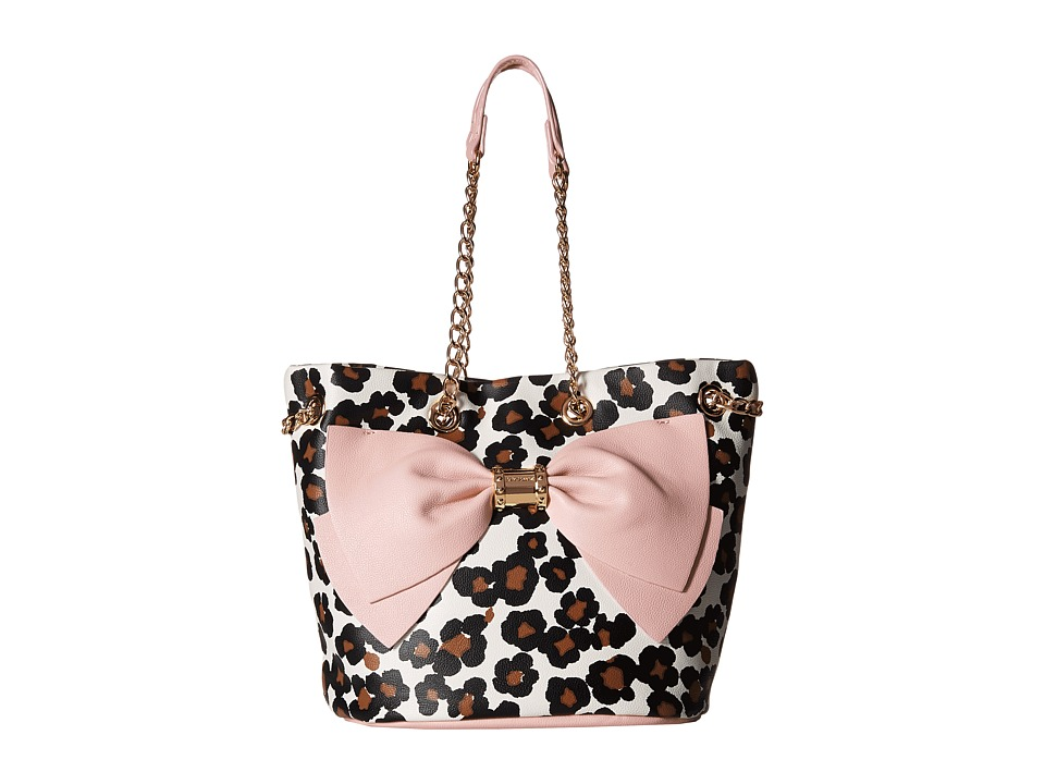 Betsey Johnson - Still Hopelessly Romantic Bucket (Leopard) Handbags