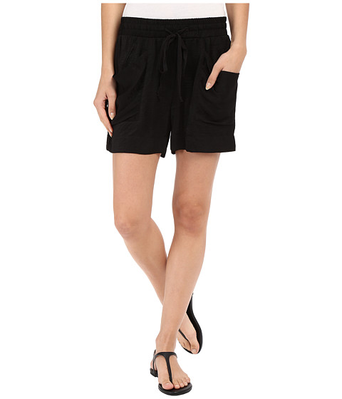 B Collection by Bobeau Fleur Slouch Pocket Shorts