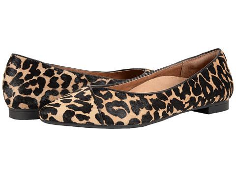 VIONIC Gem Caballo Ballet Flat - Tan Leopard