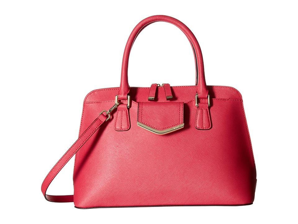 Calvin Klein - On My Corner H3GD11RP (Miami Pink) Satchel Handbags