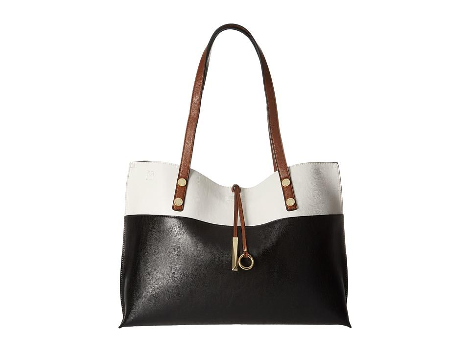 Calvin Klein - Reversible Tote (Black Combo) Tote Handbags