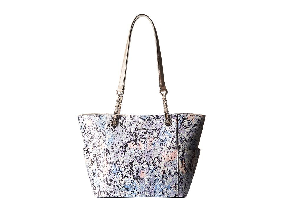 Calvin Klein - Novelty Chain Tote (Iris Multi) Tote Handbags
