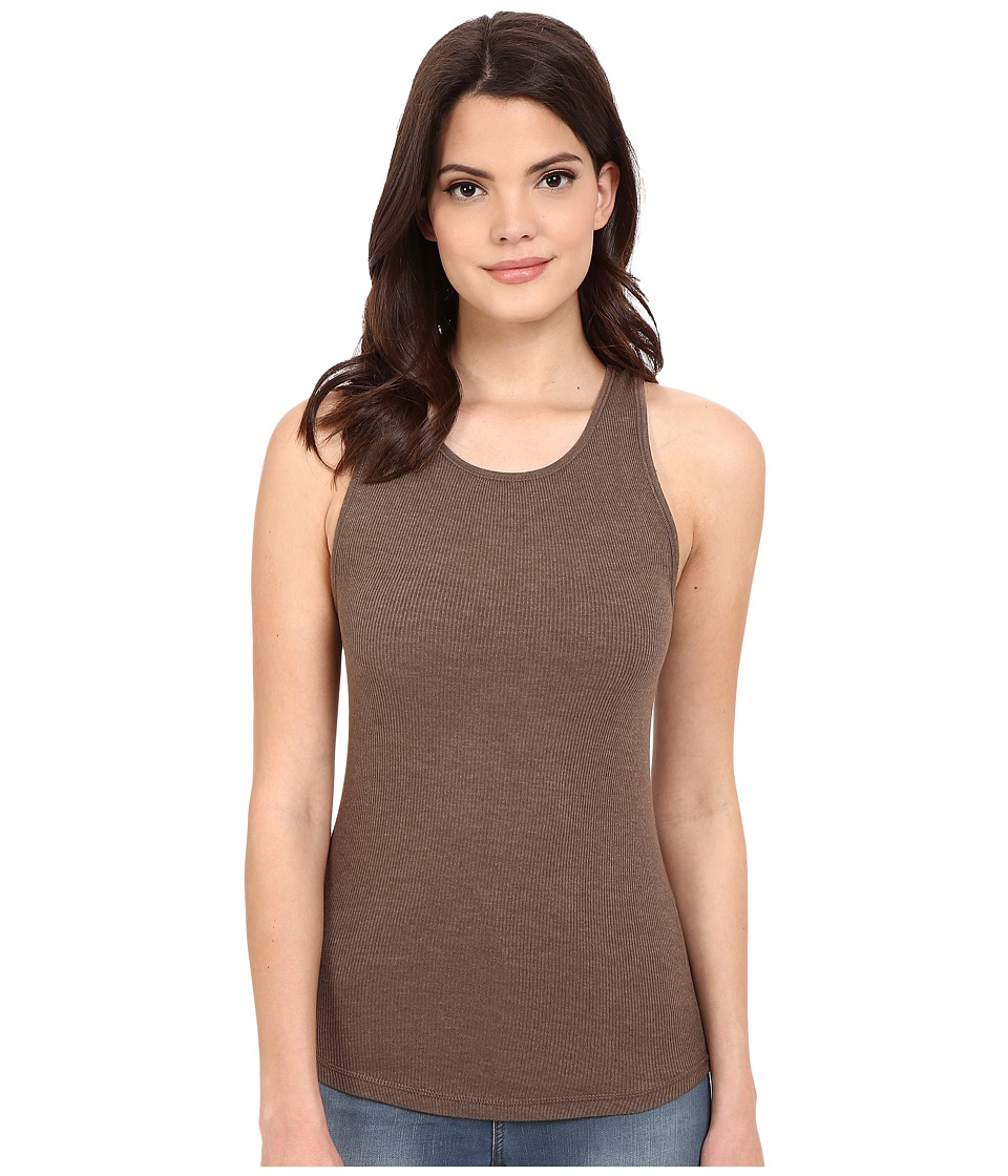 Free People High Neck Muscle Tank Top Dune Womens Sleeveless