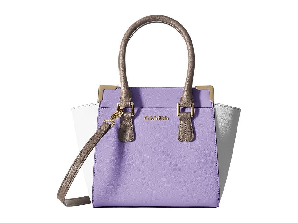 Calvin Klein - On My Corner H3JE12AC (Iris Combo) Satchel Handbags