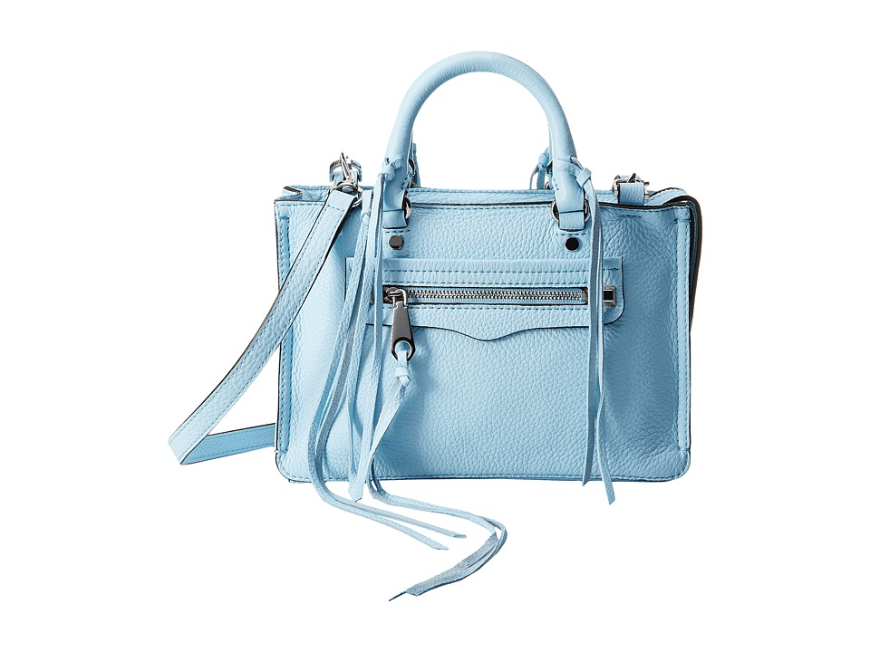 Rebecca Minkoff Micro Regan Satchel Sky Satchel Handbags