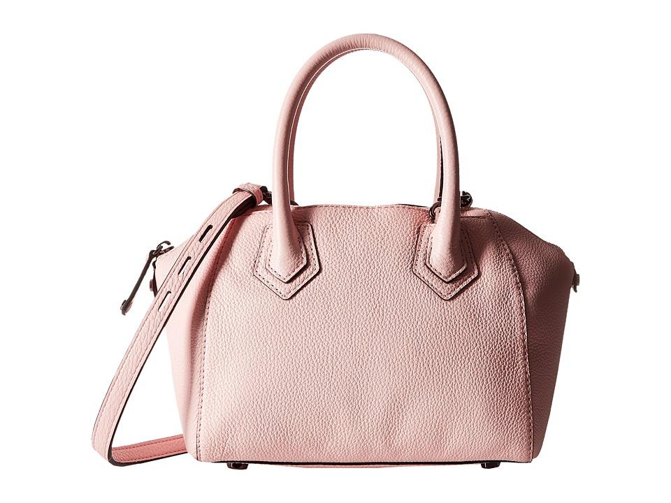 Rebecca Minkoff Micro Perry Satchel Pale Blush Satchel Handbags