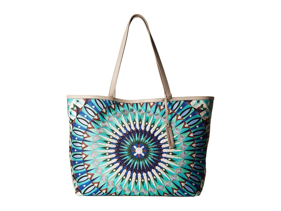 Rebecca Minkoff - Delhi Tote (Blue Multi) Tote Handbags