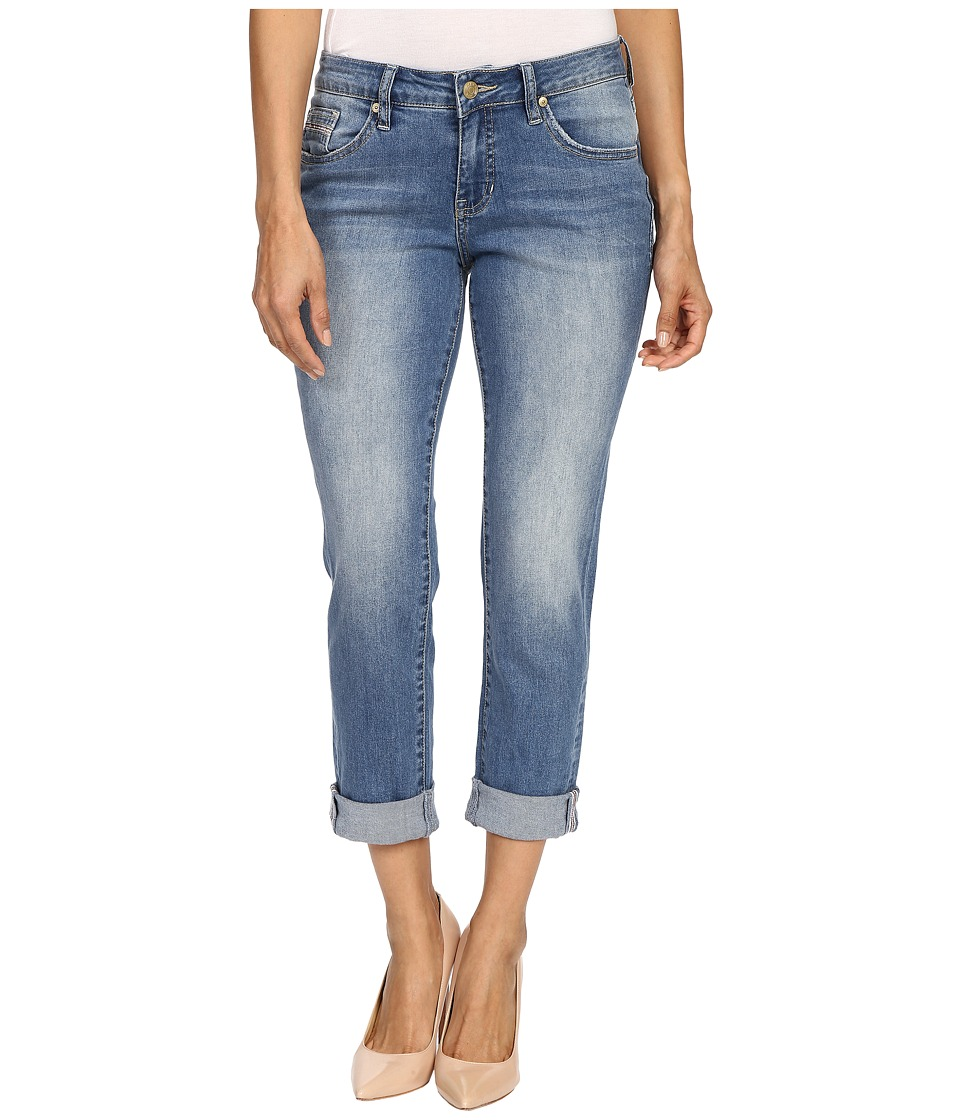 Jag Jeans Petite Petite Alex Boyfriend in Rock Water Blue Rock Water Blue Womens Jeans