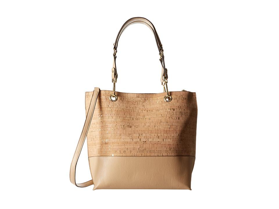 Calvin Klein - Cork Unlined Tote (Cork/Nude) Tote Handbags
