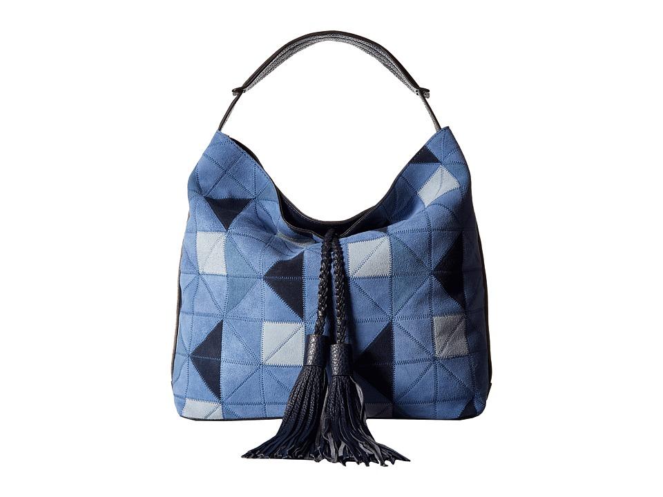 Rebecca Minkoff - Isobel Hobo (Blue Multi) Hobo Handbags