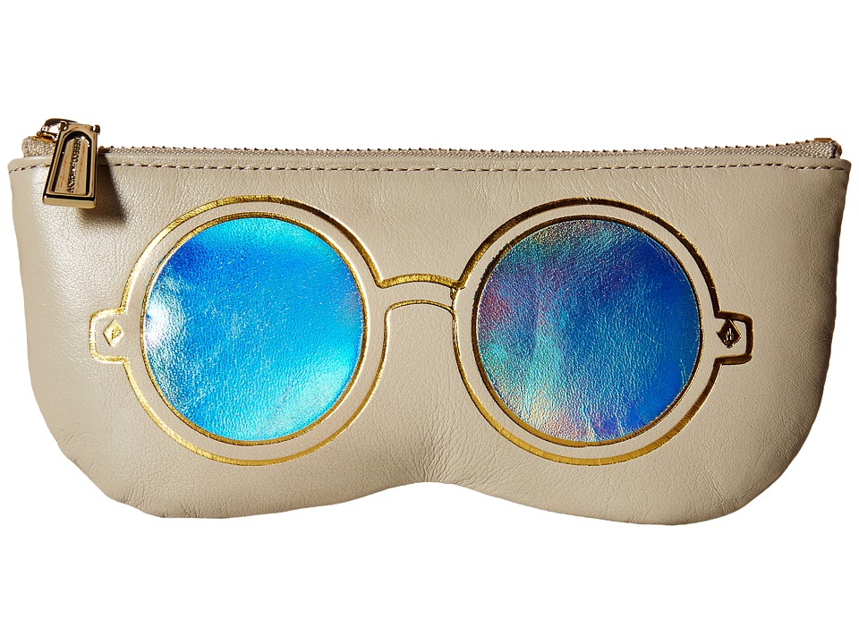 Rebecca Minkoff - Mirrored Sunnies Pouch (Khaki) Travel Pouch